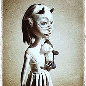 Куклы и игрушки ручной работы. Ярмарка Мастеров - ручная работа Кики. Маленькое чудовище (продана). Handmade.