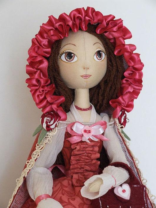Коллекционные куклы ручной работы. Ярмарка Мастеров - ручная работа. Купить Лизонька. Handmade. Авторская кукла, синтепух
