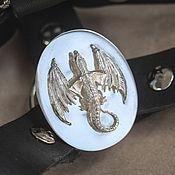 Украшения handmade. Livemaster - original item Ready massive silver ring the dragon is a