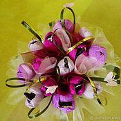 Подарки ручной работы. Ярмарка Мастеров - ручная работа Букеты из конфет. Handmade.
