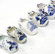 Сувениры винтажные ручной работы. Ярмарка Мастеров - ручная работа Башмачок Голландский Delft. Handmade.