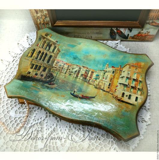 handmade jewelry box `Venice` шкатулка ручной работы `Венеция`