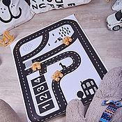 Куклы и игрушки ручной работы. Ярмарка Мастеров - ручная работа Игровой коврик Дорога. Handmade.
