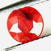 Материалы для творчества handmade. Livemaster - original item Sapphire bicolor (red-black). Handmade.