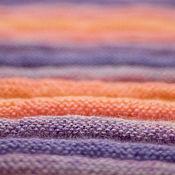 """Для дома и интерьера ручной работы. Ярмарка Мастеров - ручная работа Плед """"Лавандовые поля на юге Франции"""". Handmade."""