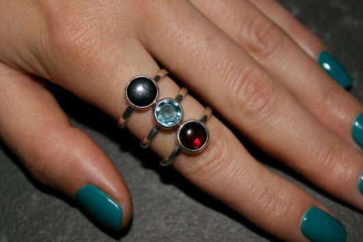 Кольца ручной работы. Ярмарка Мастеров - ручная работа. Купить Кольцо с камнем. Handmade. Серебряный, кольцо ручной работы, камни