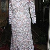 Одежда ручной работы. Ярмарка Мастеров - ручная работа Платье Белое очарование. Handmade.