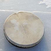 Музыкальные инструменты handmade. Livemaster - original item Shamanic drum leather. 50 see without a pattern.. Handmade.