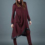 Одежда handmade. Livemaster - original item Two-piece set: Dress and tight pants-SE0376CK. Handmade.