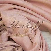 Аксессуары handmade. Livemaster - original item Pink monogramm scarf from louis Vuitton fabric. Handmade.