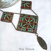 "Украшения handmade. Livemaster - original item Necklace ""Legends of Maya"". Handmade."