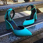 Обувь ручной работы. Ярмарка Мастеров - ручная работа Яркие , стильные туфли!!!. Handmade.