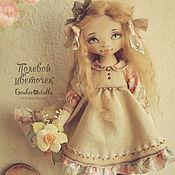Куклы и игрушки ручной работы. Ярмарка Мастеров - ручная работа Полевой цветочек. Handmade.