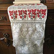 """Винтаж ручной работы. Ярмарка Мастеров - ручная работа Старинный рушник, монограмма """"ЕП"""". Handmade."""