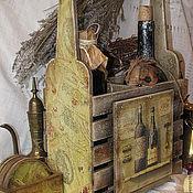 """""""Сhateau St. Сhristophe"""" Короб для вина + подставки (в подарок)."""