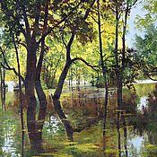 Картины и панно handmade. Livemaster - original item 13 oil Painting Polovodye Vladimir Chernov. Handmade.