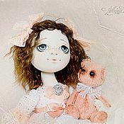 Куклы и игрушки handmade. Livemaster - original item Sophia and bear. Handmade.