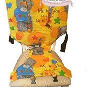 Для дома и интерьера ручной работы. Ярмарка Мастеров - ручная работа Дорожный стульчик для кормления. Handmade.