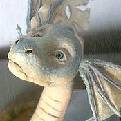 """Куклы и игрушки ручной работы. Ярмарка Мастеров - ручная работа Дракон """"Голубая мечта"""" (ПРОДАНА). Handmade."""