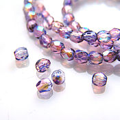 Материалы для творчества handmade. Livemaster - original item Glass beads Czech Republic 3 mm. Handmade.