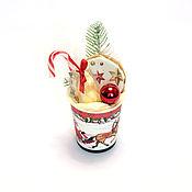 Год Крысы ручной работы. Ярмарка Мастеров - ручная работа Шоколадный  Мини подарок на новый год арт. 1-006. Handmade.