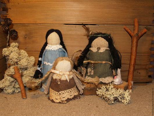 Народные куклы ручной работы. Ярмарка Мастеров - ручная работа. Купить Нимфы. Handmade. Оберег, оберег для семьи, магия