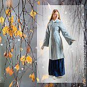 """Одежда ручной работы. Ярмарка Мастеров - ручная работа Комплект одежды """"Голубой иней"""". Handmade."""