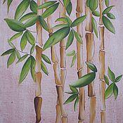 Картины и панно ручной работы. Ярмарка Мастеров - ручная работа Бамбук на счастье. Handmade.