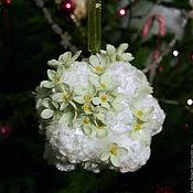 """Сувениры и подарки handmade. Livemaster - original item Christmas ball """"Snow siren"""". Handmade."""