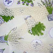 Материалы для творчества ручной работы. Ярмарка Мастеров - ручная работа Кружево 45 мм, молочное, хлопок. Handmade.