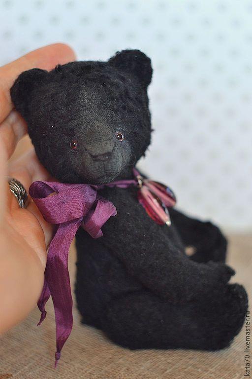 Мишки Тедди ручной работы. Ярмарка Мастеров - ручная работа. Купить ЖИМОЛОСТЬ. Handmade. Черный, мишка, мишки, опилки