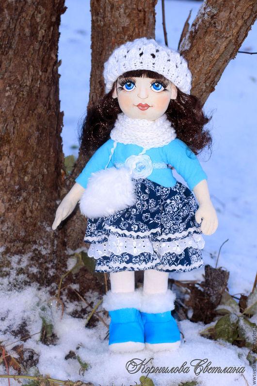 Коллекционные куклы ручной работы. Ярмарка Мастеров - ручная работа. Купить Кукла Дарина. Интерьерная кукла своими руками. Handmade.