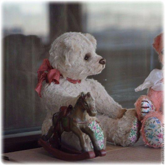 Мишки Тедди ручной работы. Ярмарка Мастеров - ручная работа. Купить Медведь Блейс (17см). Handmade. Бежевый, тедди мишка