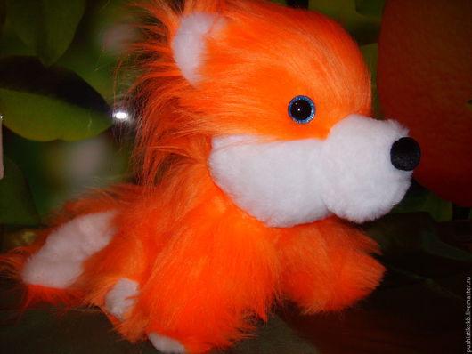 """Игрушки животные, ручной работы. Ярмарка Мастеров - ручная работа. Купить мягкая игрушка """"Лисёнок"""". Handmade. Рыжий, пушистый"""