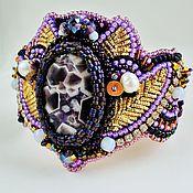 Украшения handmade. Livemaster - original item Bracelet Night violet. Handmade.