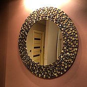 Для дома и интерьера ручной работы. Ярмарка Мастеров - ручная работа Зеркало в мозаичной раме. Handmade.