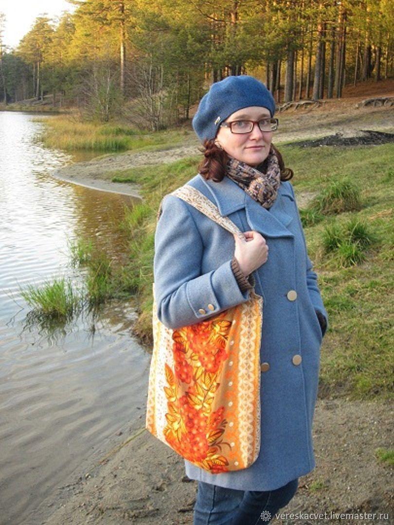 """Сумка-шоппер (тоут): Эко-сумка """"Яркая осень"""", Сумка-шоппер, Медвежьегорск,  Фото №1"""