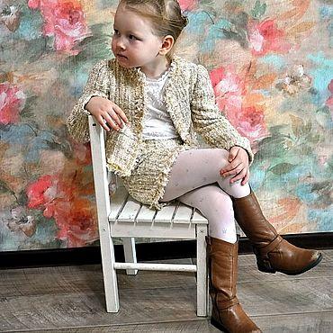 """Одежда ручной работы. Ярмарка Мастеров - ручная работа Костюм для девочки """"Магия золотого"""". Handmade."""