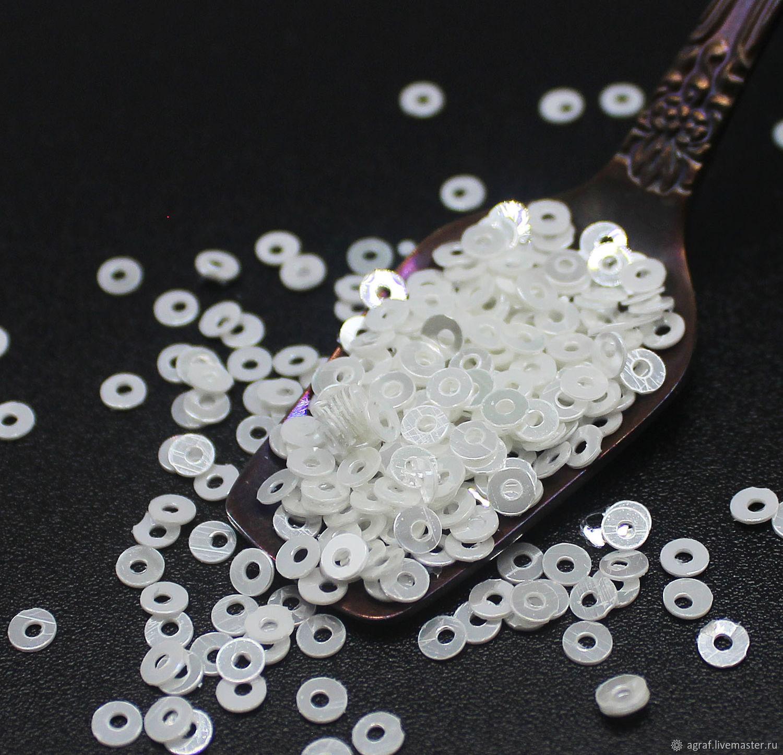 38) 3 mm Sealer shiny coating 2 grams, Sequins, Solikamsk,  Фото №1