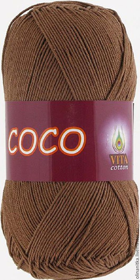 Цвет 4306 светлый шоколад