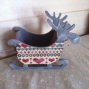 """Для дома и интерьера ручной работы. Ярмарка Мастеров - ручная работа """"Норвежский олень"""". Handmade."""