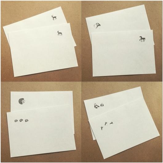 Упаковка ручной работы. Ярмарка Мастеров - ручная работа. Купить Конверты со зверушками, ч.1. Handmade. Конверт, упаковка