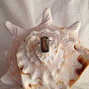 Украшения ручной работы. Ярмарка Мастеров - ручная работа Кольцо с раух-топазом. Handmade.