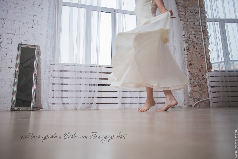Skirt-the sun 'Dance of the white Lotus', Skirts, St. Petersburg,  Фото №1