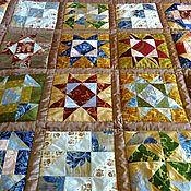 """Для дома и интерьера ручной работы. Ярмарка Мастеров - ручная работа Одеяло """"Лоскутная мозаика"""". Handmade."""
