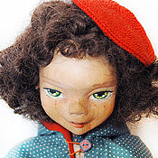 """Куклы и игрушки ручной работы. Ярмарка Мастеров - ручная работа Кукла """"Полли, сердце компас """". Handmade."""
