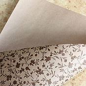 Материалы для творчества handmade. Livemaster - original item Kraft paper print. Handmade.