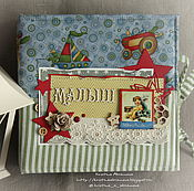 """Работы для детей, ручной работы. Ярмарка Мастеров - ручная работа Мамины сокровища для мальчика """"Ретро"""". Handmade."""