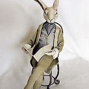 """Куклы и игрушки ручной работы. Ярмарка Мастеров - ручная работа Авторская кукла """"The Rabbit Times"""". Handmade."""