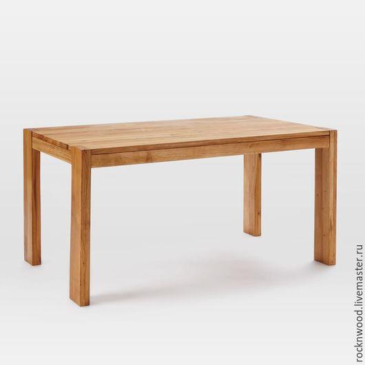 """Мебель ручной работы. Ярмарка Мастеров - ручная работа. Купить Обеденный стол """"solid oak"""". Handmade. Стол, стол из дерева"""